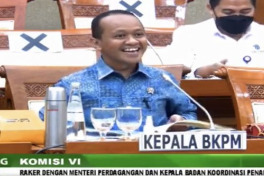 Bahlil ungkap rencana tambah dua deputi di Kementerian Investasi/BKPM