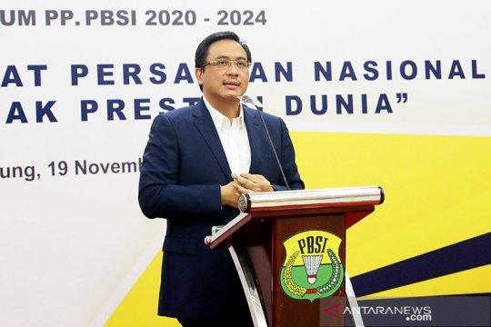 Ketua umum PBSI ingin gelar Piala Presiden bulutangkis