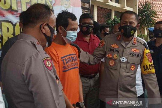 Polres Cirebon tangkap begal yang sudah beraksi sembilan kali