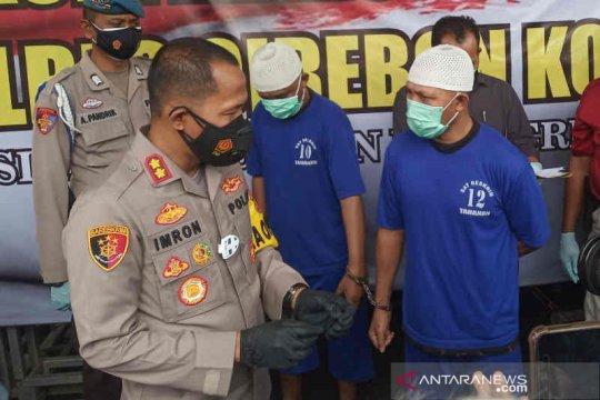 Polisi Cirebon tembak tersangka pencuri modus pecah kaca mobil