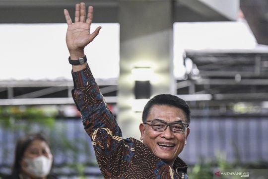 Politik, Moeldoko tak tahu update Demokrat hingga kunjungan Jokowi