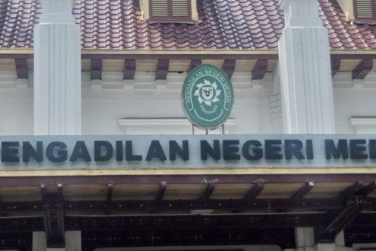 PN Medan terima kasus narkotika anggota DPRD Labuhanbatu Utara