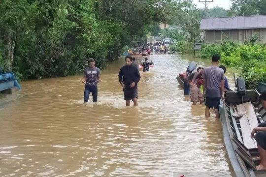 Hujan lebat, banjir kembali rendam rumah warga Bengkayang