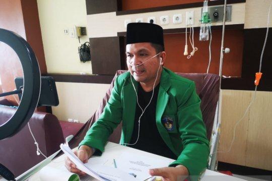 Humas IDI Makassar ujian tesis saat dalam perawatan COVID-19