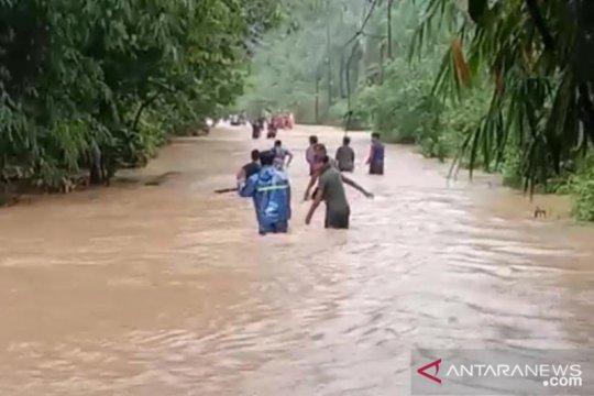 Daerah perbatasan di Bengkayang kembali alami banjir
