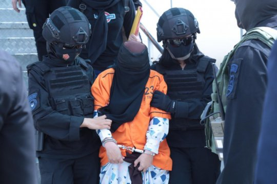 26 teroris JAD Sulawesi akan ditahan di Rutan Teroris di Cikeas
