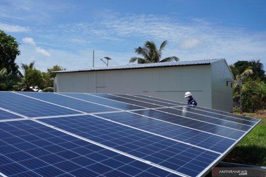 Listrik di Papua pakai tenaga surya