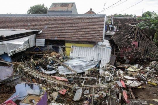 Dampak banjir bandang di Pasuruan