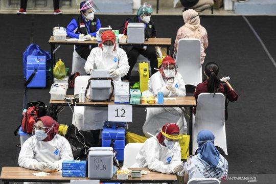 848 ASN dan PJLP Kantor Wali Kota Jakut sudah vaksinasi