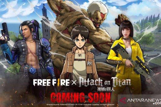 "Game ""Free Fire"" berkolaborasi dengan anime ""Attack on Titan"""
