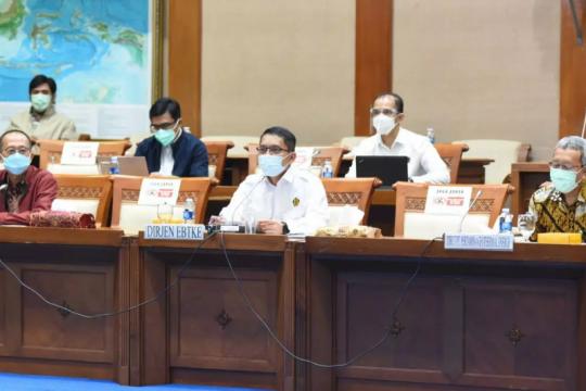 Kementerian ESDM jelaskan kejadian kebocoran gas Sorik Marapi ke DPR
