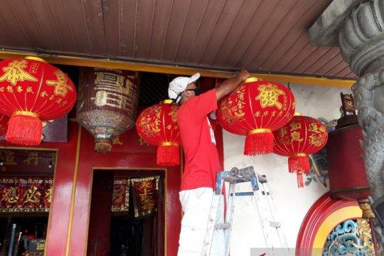 Kelenteng Tjoe Hwie Kiong Kediri tiadakan perayaan Tahun Baru Imlek
