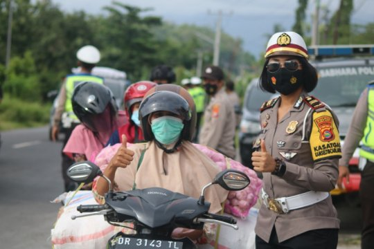 Polres Lombok Barat awasi pelanggaran lalu lintas dengan CCTV