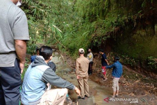 Polisi selidiki temuan jasad perempuan di Sungai Cimalaka Garut