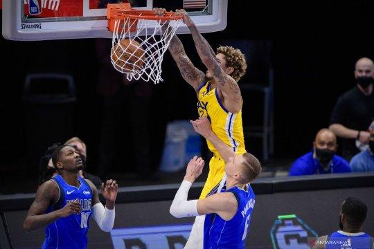 NBA: Warriors kalahkan Mavericks 147 - 116
