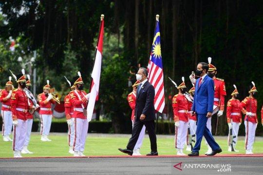 Presiden Jokowi sambut rencana penerapan TCA dengan Malaysia