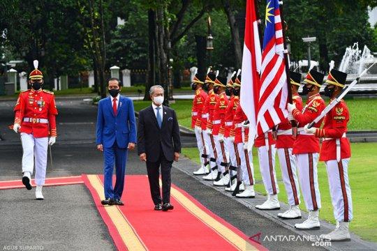 Presiden Jokowi terima kunjungan resmi PM Malaysia Muhyiddin Yassin