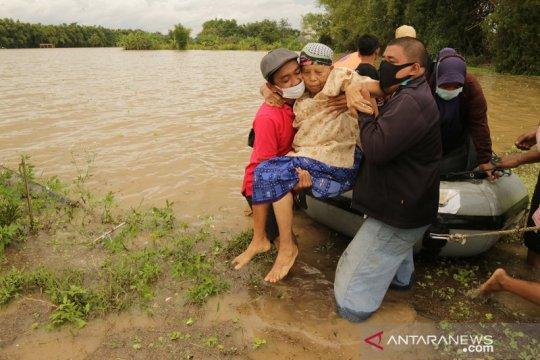 Banjir merendam Jombang