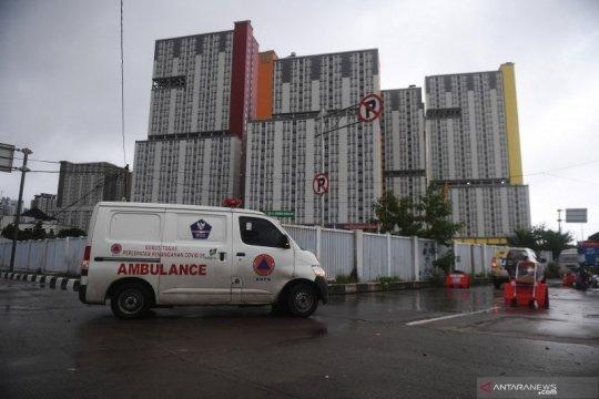 Kapasitas tempat tidur dan fasilitas isolasi DKI Jakarta masih memadai