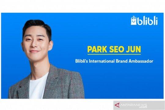 Park Seo Jun jadi duta merek internasional Blibli