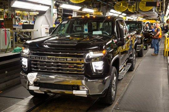 GM tingkatkan produksi transmisi matic 10-percepatan