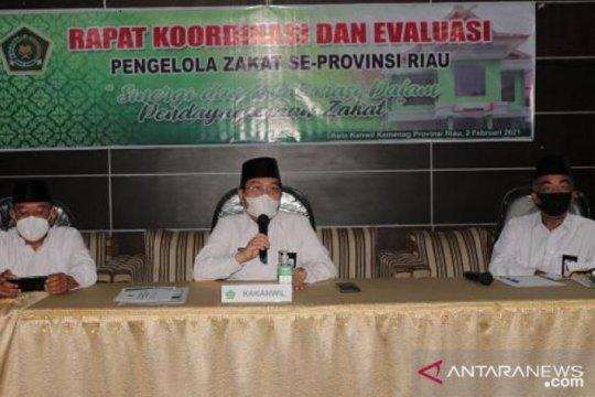 Rp110 miliar zakat sudah disalurkan di Riau sepanjang 2020