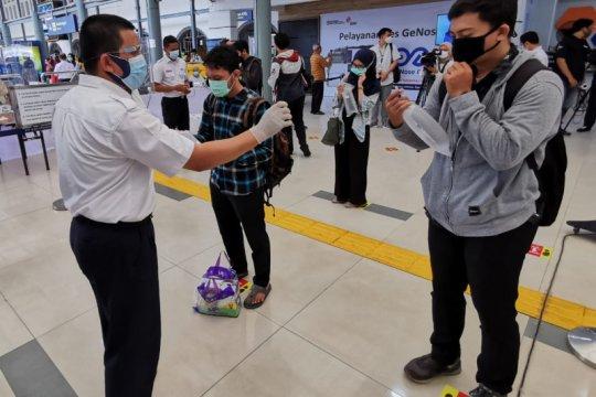 KAI catat 2.580 calon penumpang gunakan GeNose