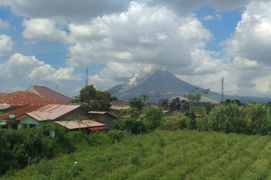 Gunung Sinabung luncurkan awan panas guguran sejauh 2.500 meter
