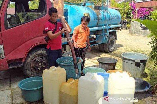 Dampak kemarau, Kota Gunungsitoli-Sumur alami krisis air bersih
