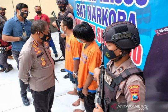 Polresta Sidoarjo tangkap dua orang pengedar narkoba