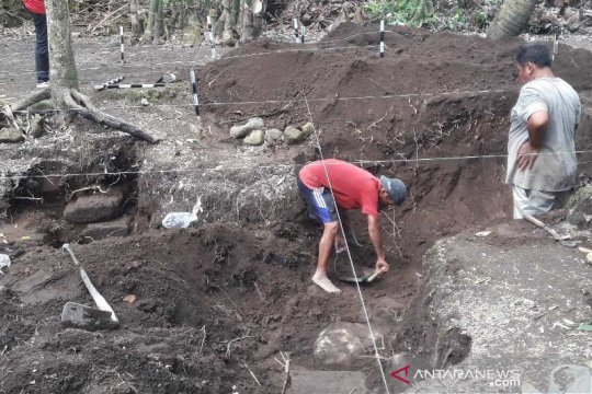 Temuan situs Kolokendang Magelang diekskavasi BPCB Jateng