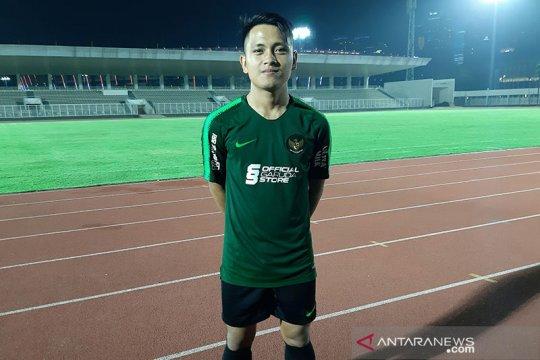 Natanael Siringoringo siap jalani latihan berat bersama Shin Tae-yong