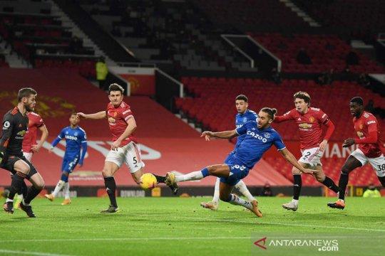 Liga Inggris: Everton tahan imbang MU di Old Trafford