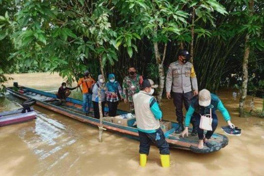 Banjir di perbatasan karena ada kiriman dari negara tetangga