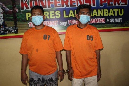 Polisi ringkus dua tersangka kaki tangan sindikat narkoba 'Man Batak'