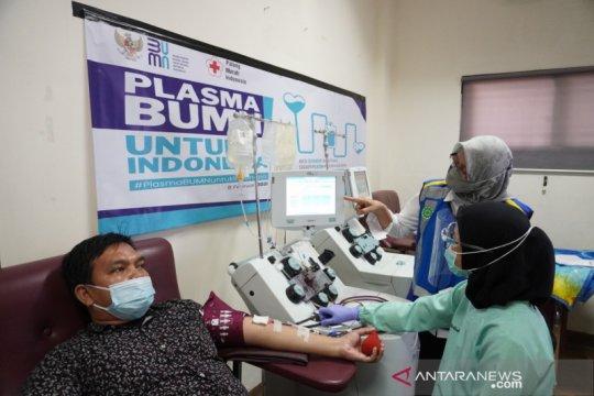 Jasa Marga dukung donor plasma BUMN untuk Indonesia
