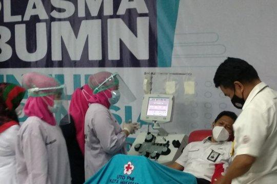 Peluncuran donor plasma BUMN diikuti dua penyintas