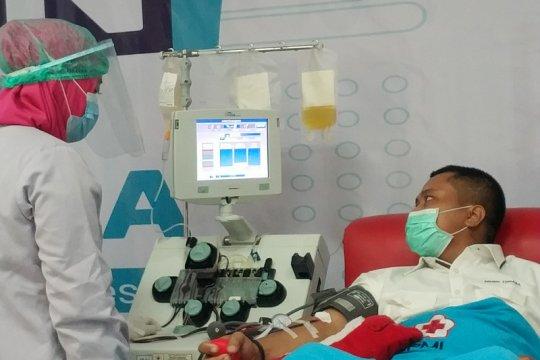 Hanya karyawan Semen Tonasa ikut donor plasma BUMN di Makassar