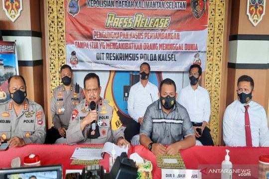 Empat petinggi PT CAS tersangka longsor tambang di Tanah Bumbu Kalsel