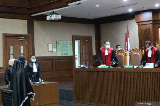 Hakim sebut jaksa Pinangki ikut mengurus grasi Annas Maamun