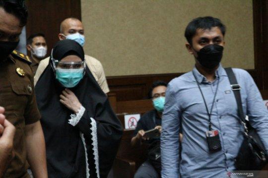 Jaksa Pinangki Sirna Malasari divonis 10 tahun penjara
