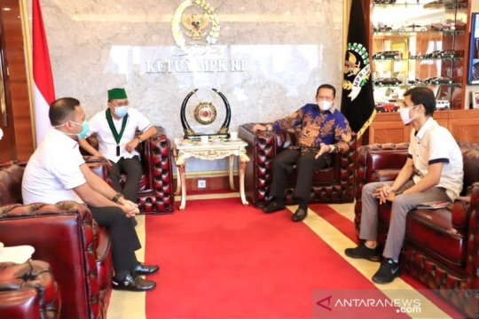 Ketua MPR ajak anak muda jaga persatuan-kesatuan bangsa