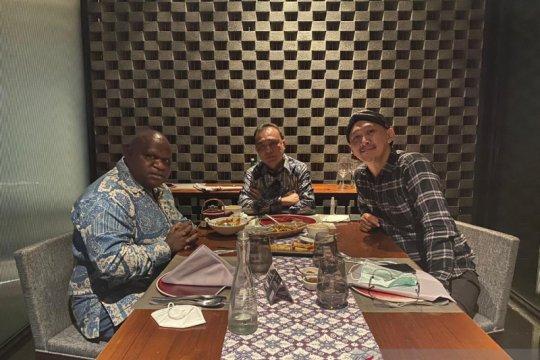 Dasco bertemu Abu Janda dan Natalius Pigai
