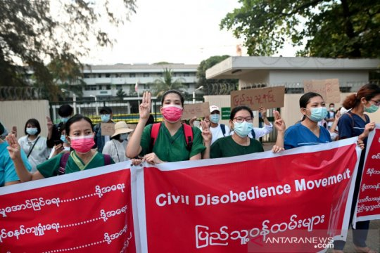 Korban luka akibat kekerasan Myanmar diizinkan dirawat di Thailand