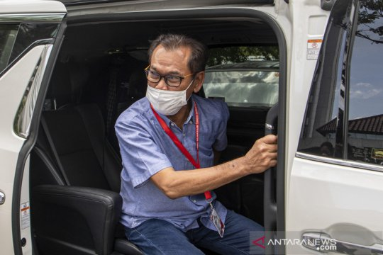 Mantan Wakil Ketum KOI Muddai Madang diperiksa Kejati Sumsel