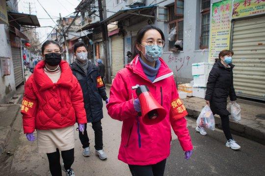 Pelaku pembunuhan relawan COVID-19 di China timurlaut ditangkap