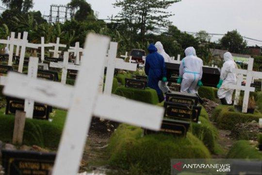 Polisi selidiki hilangnya jenasah korban COVID-19 dari kuburannya
