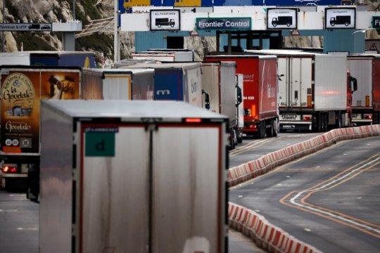 Ekspor Inggris ke Uni Eropa anjlok 68 persen sejak kesepakatan Brexit