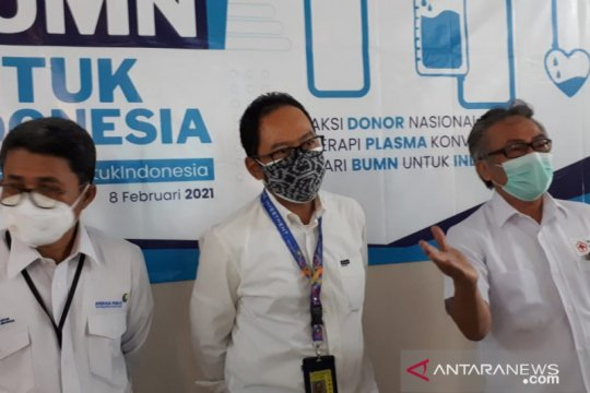 PMI Kota Tangerang sudah salurkan 410 kantong plasma konvalesen