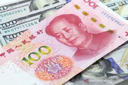 Yuan  berbalik menguat 124 basis poin menjadi 6,5454 terhadap dolar AS